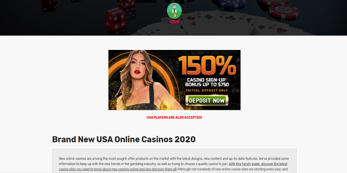 brand new online casinos usa